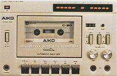 AUDIORAMA - Equipamentos de Audio & Video - Museu Virtual: AIKO (EVADIN) Big Speakers, Hifi Audio, Aiko, Audiophile, Tech Gadgets, Decks, Tape, Memories, Play