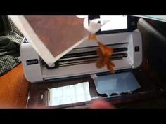Cutting fabric with freezer paper for the Brother ScanNCut Jen Blausey - YouTube