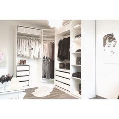Dressing room is ready apartment # ikea . Dressing room is ready own apartement Ikea Closet, Closet Bedroom, Master Closet, Bedroom Decor For Couples, Boho Bedroom Decor, Ikea Dressing Room, Ikea Girls Room, Walk In Closet Inspiration, Corner Wardrobe