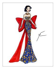 Disney Princesses 'Snow White' by Yigit Ozcakmak