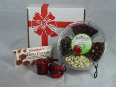 """Valentine's Gift Box #2 - Make your Valentine swoon with these """"berry"""" good cranberry treats! Special """"sweetheart"""" pricing and gift box included #valentine #gift"""