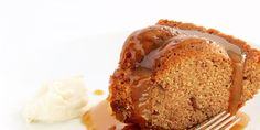 """Sandy Lerner, the owner of Hunter's Head Tavern, fell in love with this classic """"pudding"""" while living in England. The secret to its sweetness is dates, baked into a dense cake that's drizzled with caramel—special enough to be served for company and simple enough to be enjoyed after a weeknight dinner."""