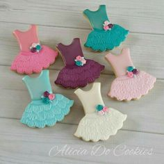 Alicia Do Cookies:  Colorful birthday set