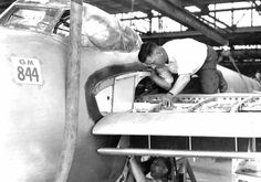 Mosquito  Aircraft - Manufacture  Line