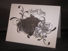 Everything eleanor    Black and White Eleanor Thank You by zipperc98 - Cards and Paper Crafts at Splitcoaststampers