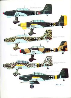 S06 Luftwaffe Colour & Markings 1935-1945 Vol. 1 Page 33-960
