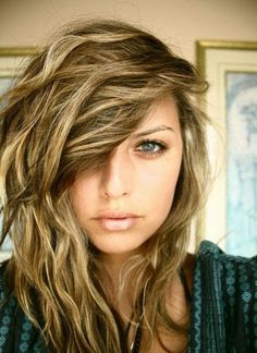 light brown with blonde and caramel highlights - Google Search
