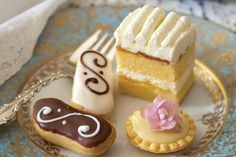 Indulge sugar cravings with a sweet selection of miniature desserts.