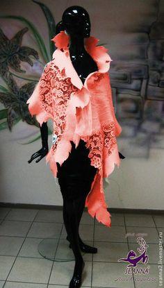 Фотографии Сказки войлока Журнал мастер-классов   124 альбома Mode Outfits, Fashion Outfits, Nuno Felt Scarf, Felted Scarf, Recycled Dress, Evening Shawls, Felting Tutorials, Freeform Crochet, Crochet Stitches Patterns
