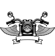 coloring pages - Motorcycle Logo 5 Handle Bars Wings Bike Biker Chopper Mechanic Service Shop Banner SVG EPS PNG Clipart Vector Cricut Cut Cutting File Biker Tattoos, Motorcycle Tattoos, Motorcycle Logo, Chopper Motorcycle, Women Motorcycle, Harley Tattoos, Motorcycle Jacket, Moto Logo, Bike Drawing