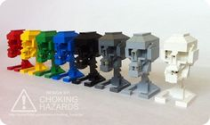 Lego Skull Instructions — Choking Hazards