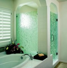 ptions for glass include clear, obscure, patterned, etched or slumped designs in various shapes and colors