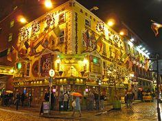 The Oliver St. John Gogarty pub, Dublin