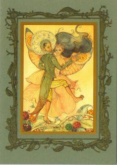 Dancing Fairies by Charles van Sandwyk