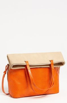 Big Buddha Woodley Foldover Tote available at #Nordstrom