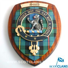 Smith Clan Crest Large Plaque