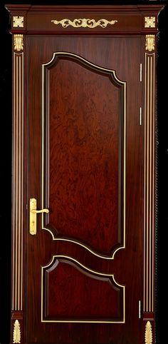 Room Door Design, Door Design Interior, Main Door Design, Mdf Doors, Room Doors, Wooden Door Hangers, Wooden Doors, Door Picture, Wrought Iron Gates
