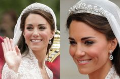 Photos of all the times Kate Middleton, Duchess of Cambridge, has worn a tiara. William Kate, Prince William, Royal Jewels, Tiaras And Crowns, Celebs, Celebrities, Royal Fashion, Duchess Of Cambridge, Queen Elizabeth