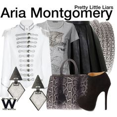 Inspired by Lucy Hale as Aria Montgomery on Pretty Little Liars.