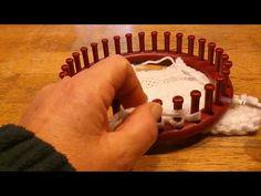 Afkanten breiring. Afkanten op breiring en breiraam zo los mogelijk en rekbaar vergelijkbaar met je project / cast off loom - YouTube