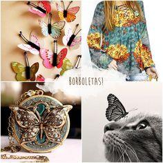 Nossa inspiração do dia: borboletas ♥