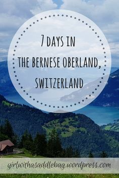 Explore the stunning Bernese Oberland in Switzerland with our 7 day itinerary