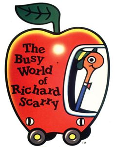 During a period of 2-3 years, I would bring Richard Scarry books from the school library and read them (in great detail) while having lunch made by my grandmother...she gave me chopped bananas with vanilla ice cream for dessert and to this day, I always remember my grandma and these books when I eat that...