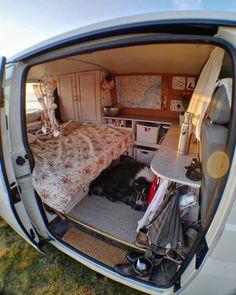 camper ideen - van life - You dont need a huge van to live the Sure they are amazing but not Best Picture For van - Tiny Camper, Camper Life, Campers, Camper Van Inside, Van Living, Tiny House Living, Living Room, Wolkswagen Van, Big Van