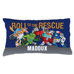 Transformers Rescue Bots Pillowcase - Bedding & Blankets - Decor | Tv's Toy Box