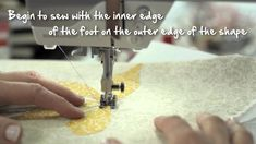 9/10 BERNINA 530 and 550 QE: easy applique with blanket stitch