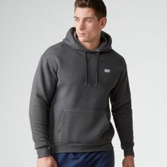 Prezzi e Sconti: #Myprotein men's overhead hoody charcoal l  ad Euro 21.99 in #Myprotein #Apparel clothing sweatshirts