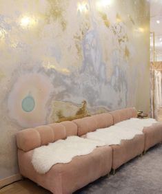 Decor inspiration- Wallpaper 'Inverted Spaces' by Calico Wallpaper