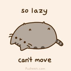 I love pusheen the cat!
