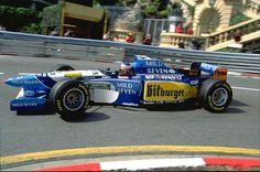 Michael Schumacher (GER) (Mild Seven Benetton Renault), Benetton B195 - Renault RS7 3.0 V10 (finished 1st)  1995 Monaco Grand Prix, Circuit de Monaco