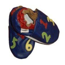 chaussons-cuir-bebe-souple-lettre