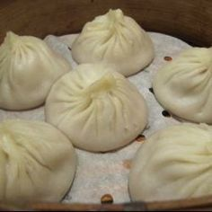 Chinese chicken and ginger steamed buns @ allrecipes.co.uk