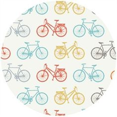 Jay Cyn Designs for Birch Organic Fabrics, Just For Fun KNITS, Bike It