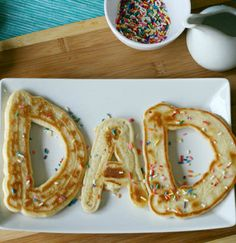 Make a fun Father's Day breakfast for dad!