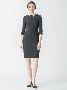 襟付きタイトワンピース(ドレス)|CELFORD(セルフォード)|ファッション通販|ウサギオンライン公式通販サイト