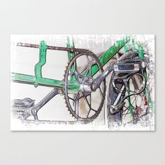 Pushing It Stretched Canvas by F Photography and Digital Art - $85.00