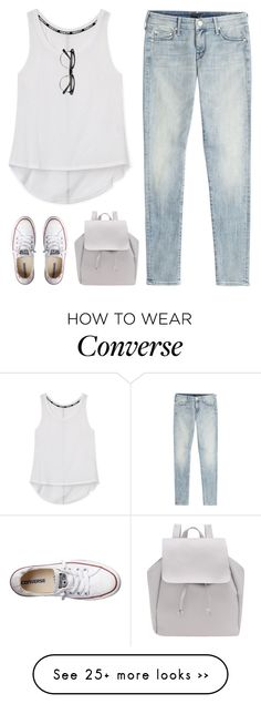 """so beautifully blind"" by intanology on Polyvore featuring Rebecca Minkoff, Mother and Converse"