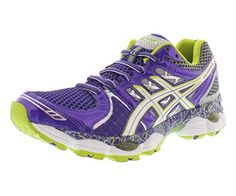 Best Athletic Shoes | Asics Womens GELNimbus 14 LE Running ShoePurpLELimeCharcoal6 B US >>> Details can be found by clicking on the image. Note:It is Affiliate Link to Amazon.
