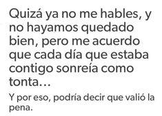 Me hacías bien Im Sad, Sad Love, Spanish Phrases, Sad Stories, Life Thoughts, Bullet Journal Ideas Pages, Memes, Sentences, Wise Words