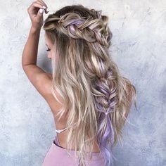 Braid Dress |@habit.hand.tied.extensions @savannahmclain | : @hairandmakeup_byjen