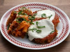 Get Eggplant Parmesan with Rigatoni Recipe from Food Network Potato Vegetable, Vegetable Sides, Vegetarian Recipes, Cooking Recipes, Skillet Recipes, Crockpot Recipes, Yummy Recipes, Dinner Recipes, Worst Cooks In America