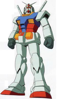 The Gundam (aka the Gundam or the White Mobile Suit) is the titular… Gundam Head, Gundam Art, Cross Silhouette, Close Quarters Combat, Zeta Gundam, Super Robot, Robot Art, Mobile Suit, Smurfs