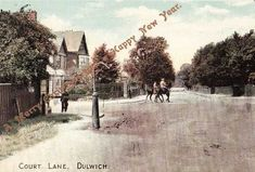 Dulwich – Then and Now