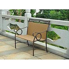 @Overstock.com - Valencia Brown Resin Wicker/ Steel Loveseat - Add a comfortable place to sit outside and enjoy nature with this stylish wicker loveseat. This elegant seat for two is made of steel, with a powder-coated matte brown finish and brown woven wicker, making it very durable and weather resistant.  http://www.overstock.com/Home-Garden/Valencia-Brown-Resin-Wicker-Steel-Loveseat/5203029/product.html?CID=214117 $168.99