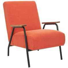 Reuben Armchair Orange now featured on Fab.