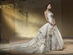 Wedding Dresses Collection Amalia Carrara and Eve of Milady Bridals Gowns Old Fashioned Wedding Dresses, Wholesale Wedding Dresses, Disney Wedding Dresses, Wedding Dress Trends, Wedding Dress Styles, Dream Wedding Dresses, Wedding Attire, Bridal Dresses, Wedding Gowns